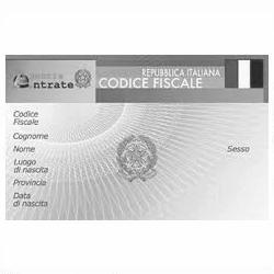 La richiesta del codice fiscale da parte dei residenti all for Codice fiscale da stampare
